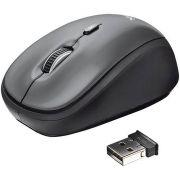 Mouse Óptico Yvi - Sem fio - Preto - Trust