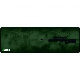 Mouse Pad Gamer - Extensivo - 900x300mm - Sniper - Verde - RISE MODE