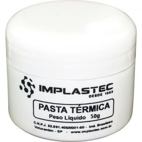 Pasta Térmica THERMAL SILVER Implastec Pote 50G