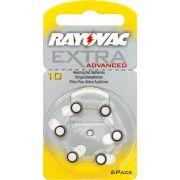 Pilha Auditiva 10 1,4V EXTRA ADVANCED RAYOVAC