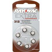 Pilha Auditiva 312 1,4V EXTRA ADVANCED RAYOVAC