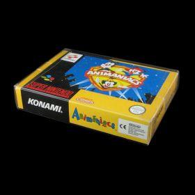 SNES - Protetor Plástico para Caixas de Cartuchos Super Nintendo