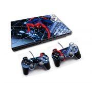 PS2 - Console PlayStation 2 Slim com 2 Controles - Spiderman 2