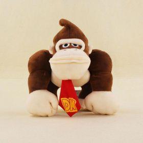 Super Mário - Donkey Kong de Pelúcia 20cm