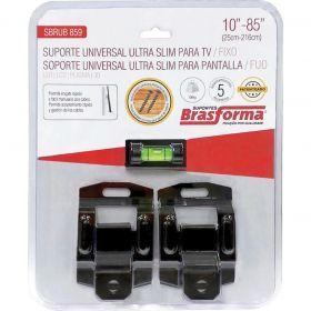 """Suporte p/ TV - Fixo - 10"""" a 85"""" - SBRUB859 - Brasforma"""