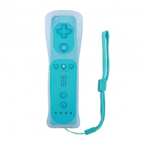 Wii - Controle Sem Fio Nintendo Wii Remote Azul Claro
