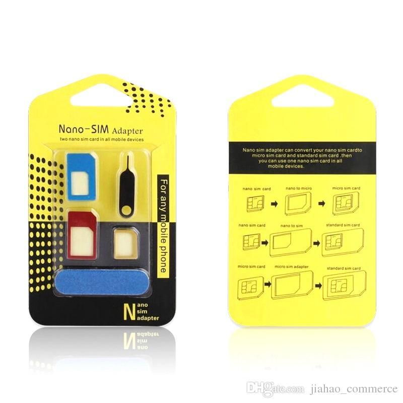 Adaptador de Chip 3 em 1 Celular Mini Micro e Nano SIM