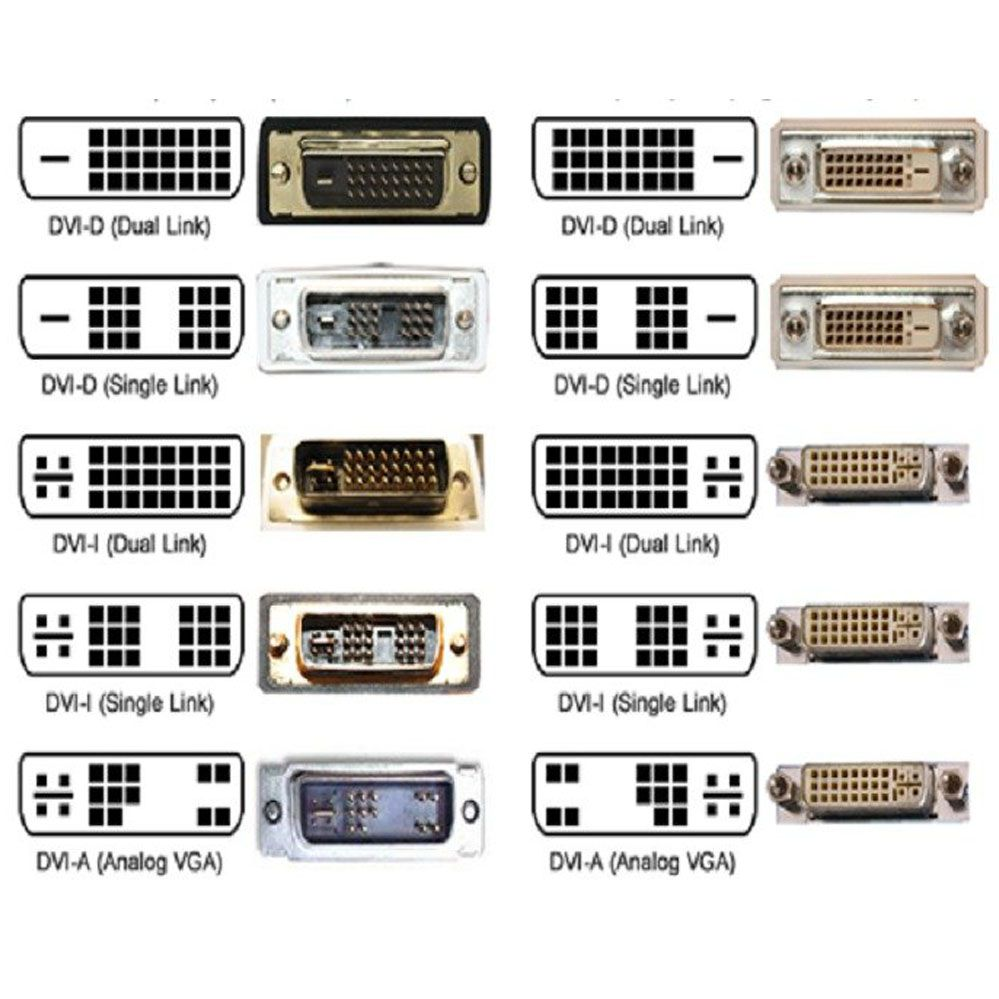 Adaptador DVI 24+5 Fêmea x VGA Macho 15 Pinos - Vinik