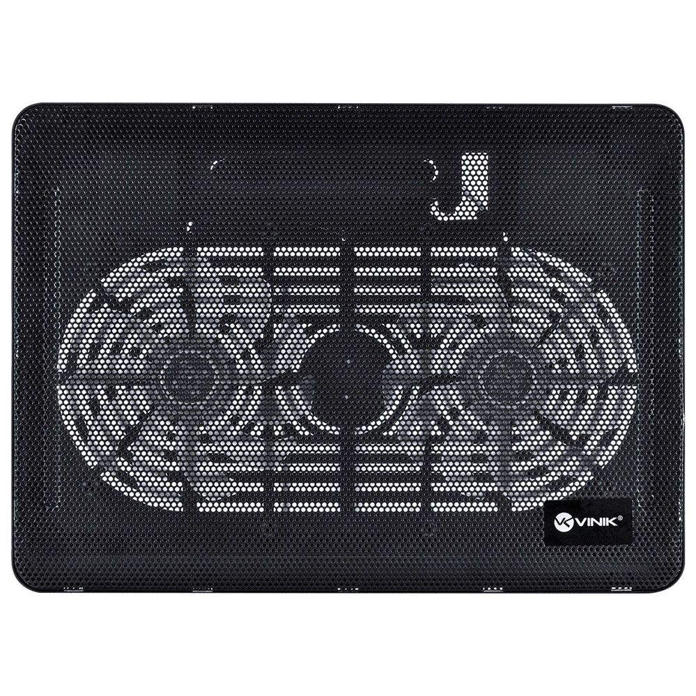 Base Para Notebook E Laptop Vinik Dynamic Wind Com 2 Fan LED Azul