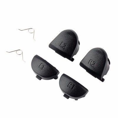 Botão Gatilho Controle Ps4 - L1 L2 R1 R2 - Kit 6 Peças