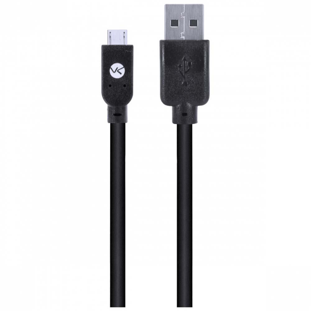 Cabo USB X Micro USB 2.0 Preto 1 metro - Vinik