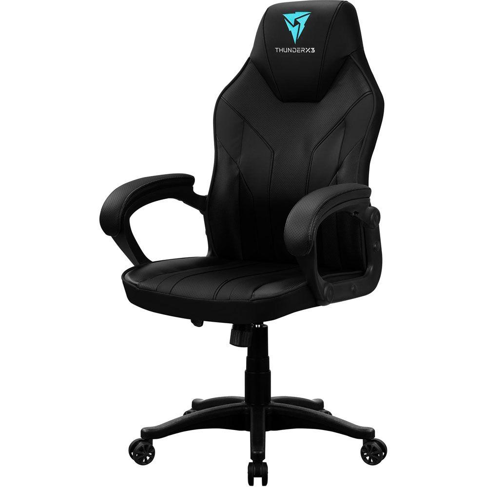 Cadeira Gamer - EC1 - Preta - THUNDERX3