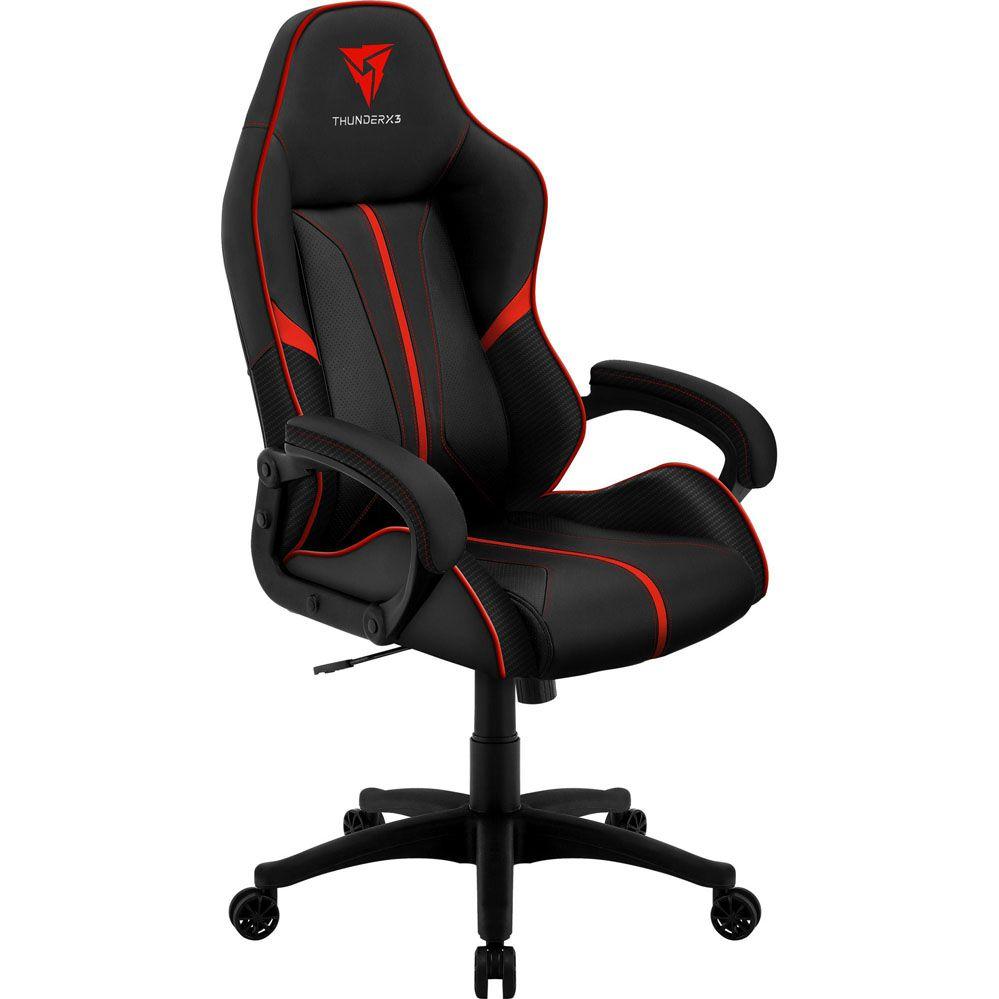 Cadeira Gamer - BC-1 - Preta/Vermelha - THUNDERX3