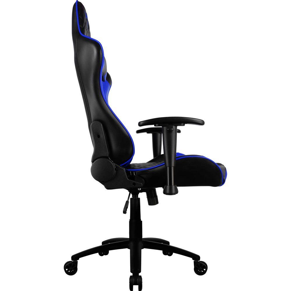 Cadeira Gamer - TGC12 - Preta/Azul - THUNDERX3