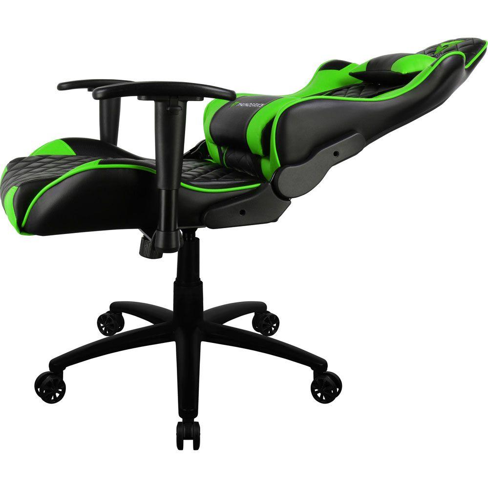 Cadeira Gamer - TGC12 - Preta/Verde - THUNDERX3