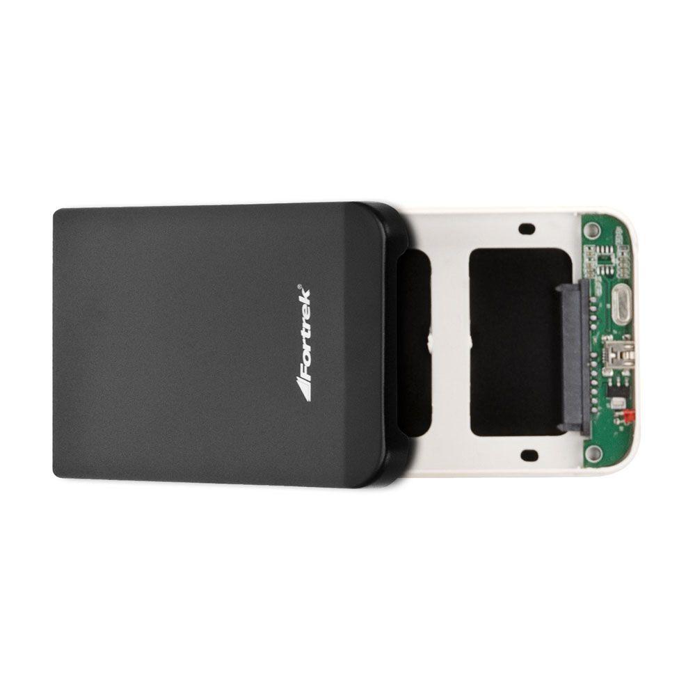 "Case Para HD 2.5"" Externo - USB 2.0 - FORTREK"