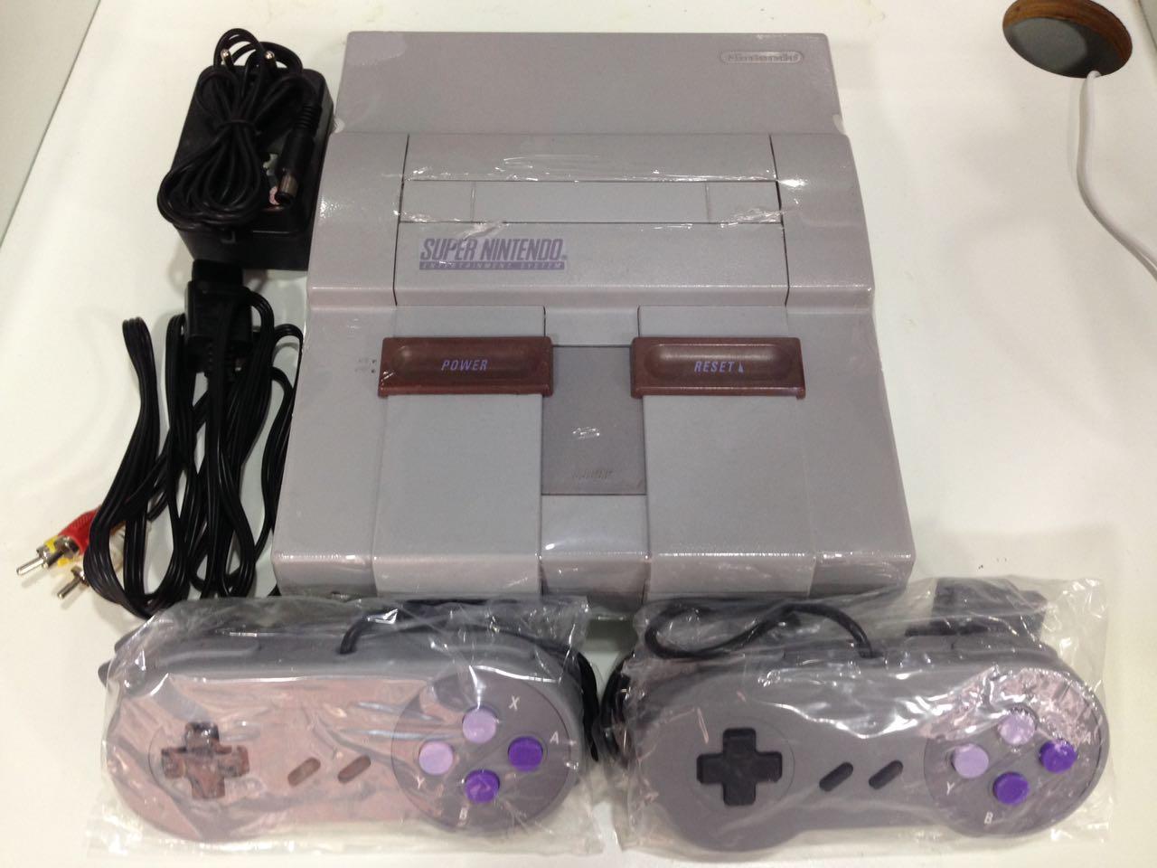 SNES - Console Super Nintendo - SNES