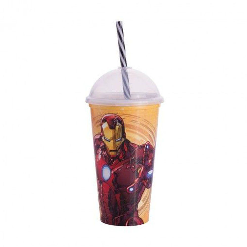 Copo Shake 500 ml | Avengers - Homem de Ferro