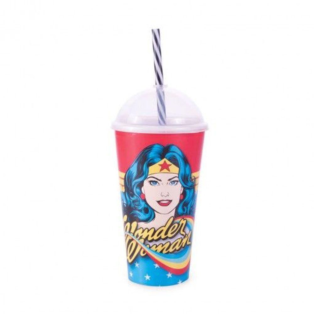 Copo Shake 500 ml   Mulher Maravilha