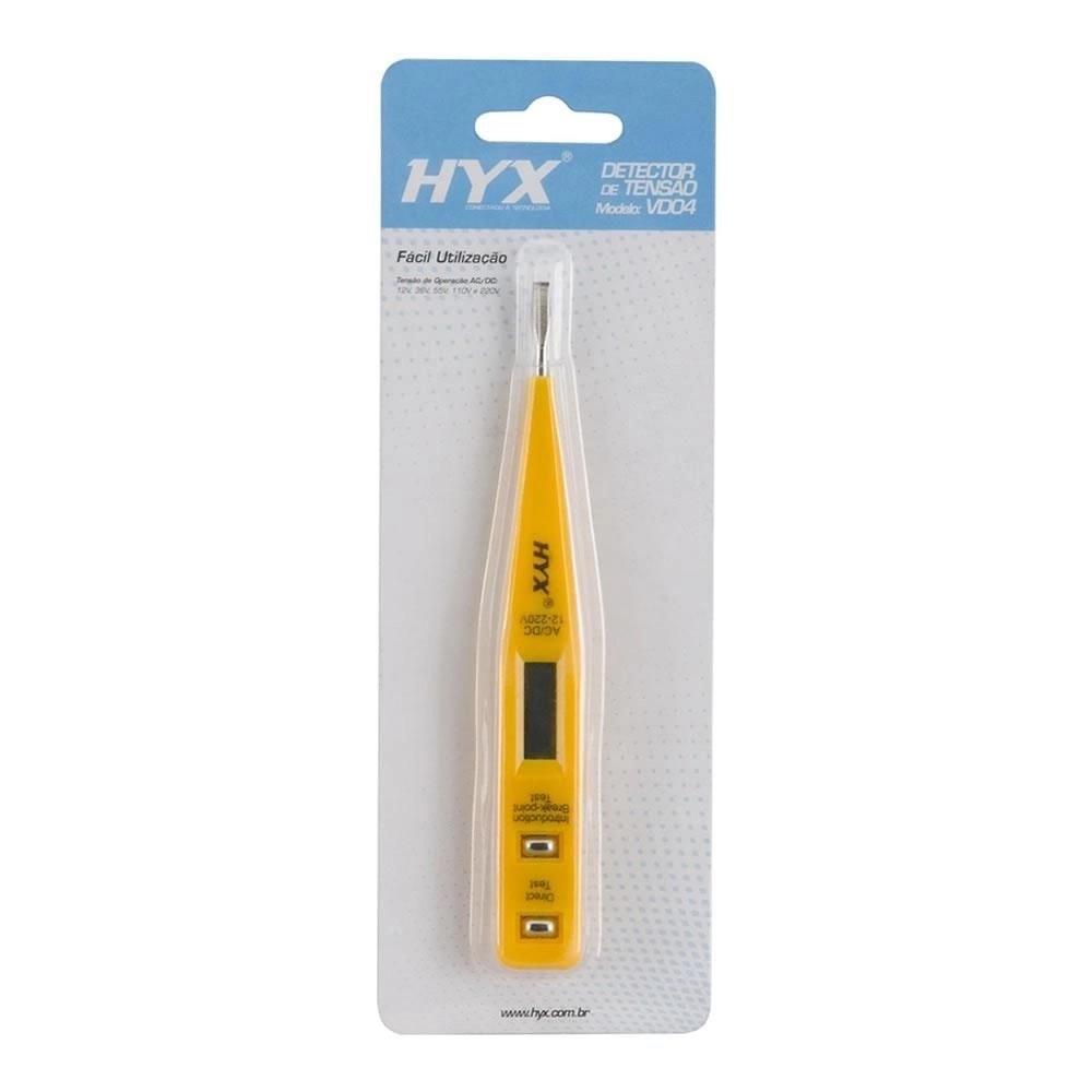 Detector e Medidor de Tensão VD4 Amarelo HYX