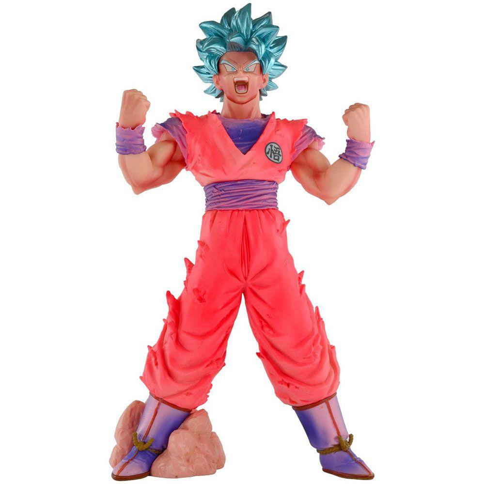 Dragon Ball - Action Figure - Goku Blue Kaiohken