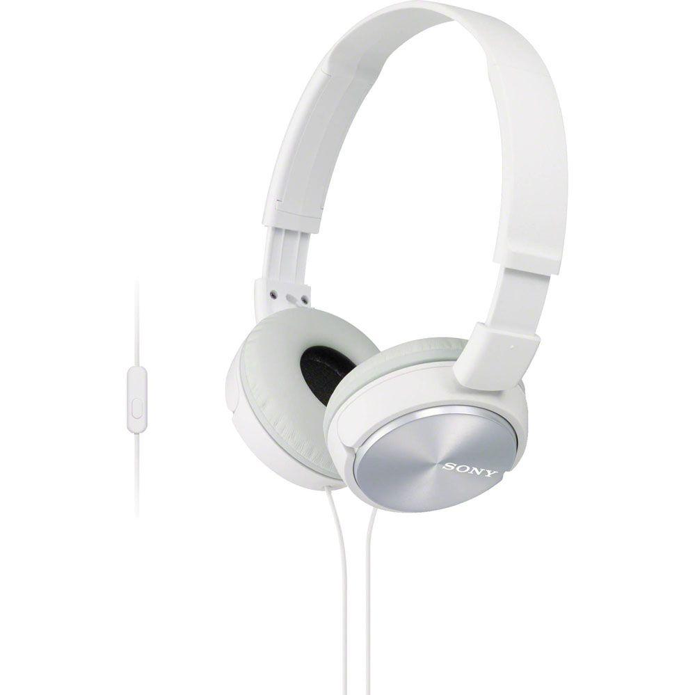 Fone de Ouvido com Microfone - Branco - SONY