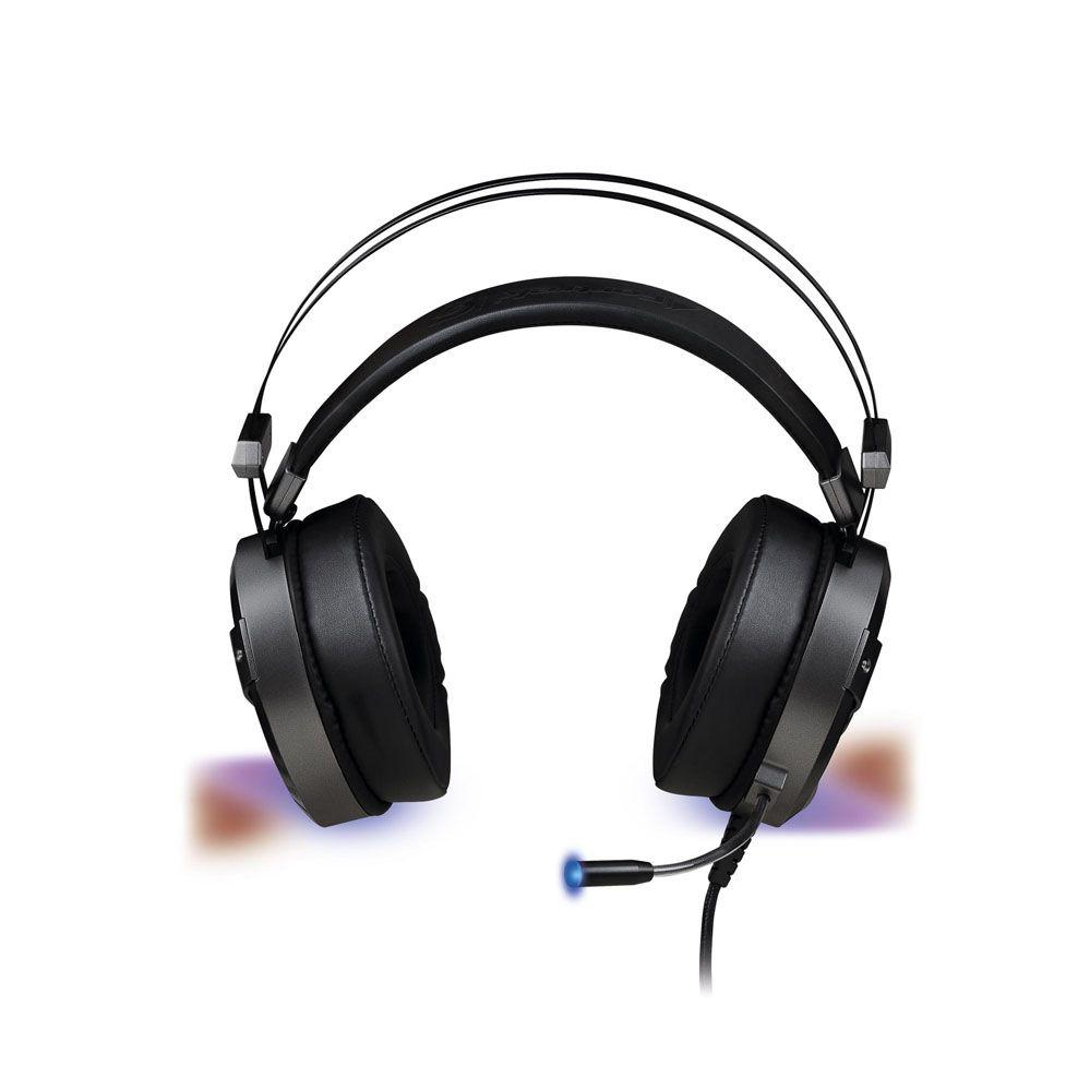 Headset Gamer - H1 Plus RGB - Som Surround Virtual 7.1 - USB - FORTREK