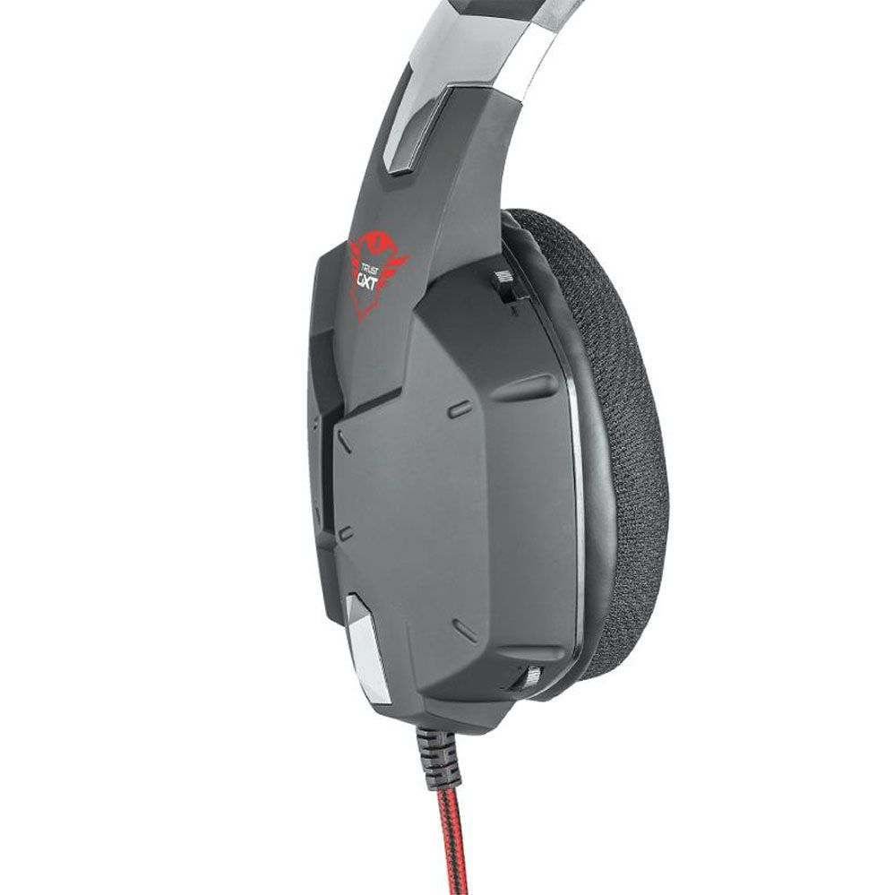 Headset Gamer - Trust Gxt 322 - Dynamic Black - PS4 / XBOX ONE / PC