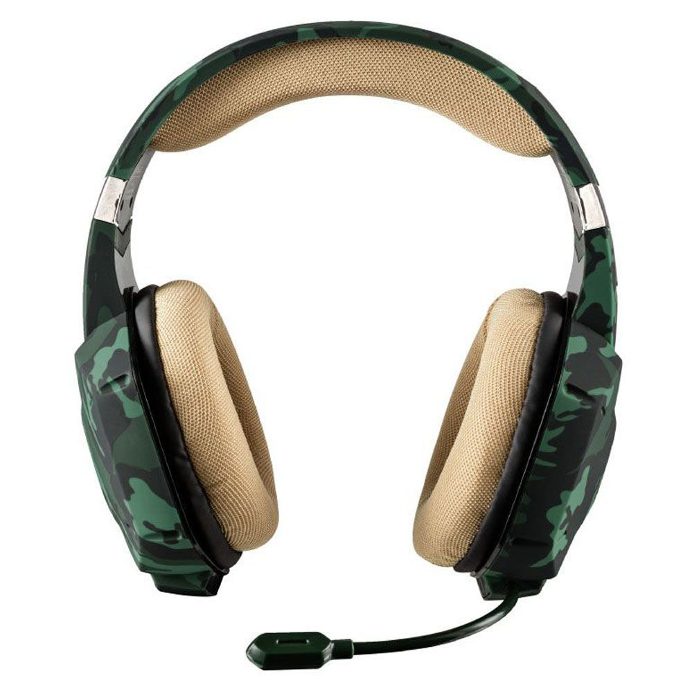 Headset Gamer - Trust Gxt 322C - Jungle Camo - PS4 / XBOX ONE / Switch / PC