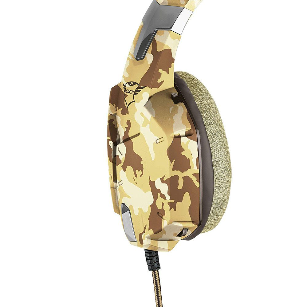 Headset Gamer -  Trust Gxt 322D - DESERT CAMO - PS4 / XBOX ONE / Switch / PC