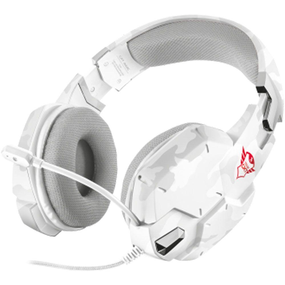 Headset Gamer - Trust Gxt 322W -SNOW CAMO  - PS4 / XBOX ONE / PC
