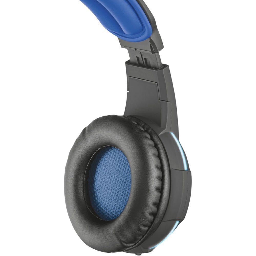 Headset Gamer -  Trust GXT 350 - Radius - Som Surround Virtual 7.1