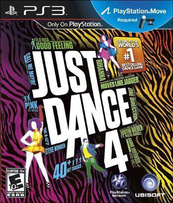 Jogo Just Dance 4 - PS3 - Seminovo