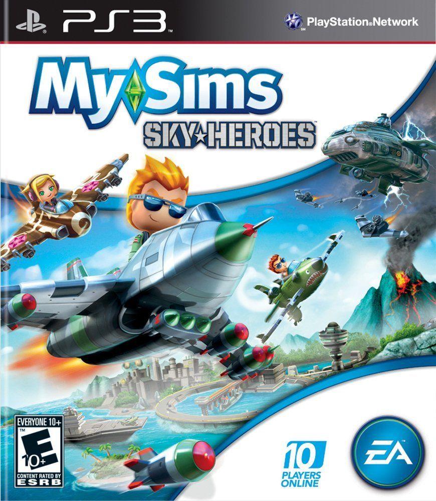 Jogo MySims SkyHeroes- PS3 - Seminovo