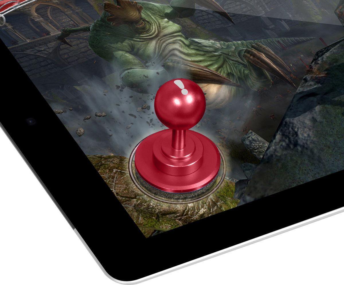 Joystick p/ Tablet Mobi Joytab Vermelho - Linha Mobi B-o