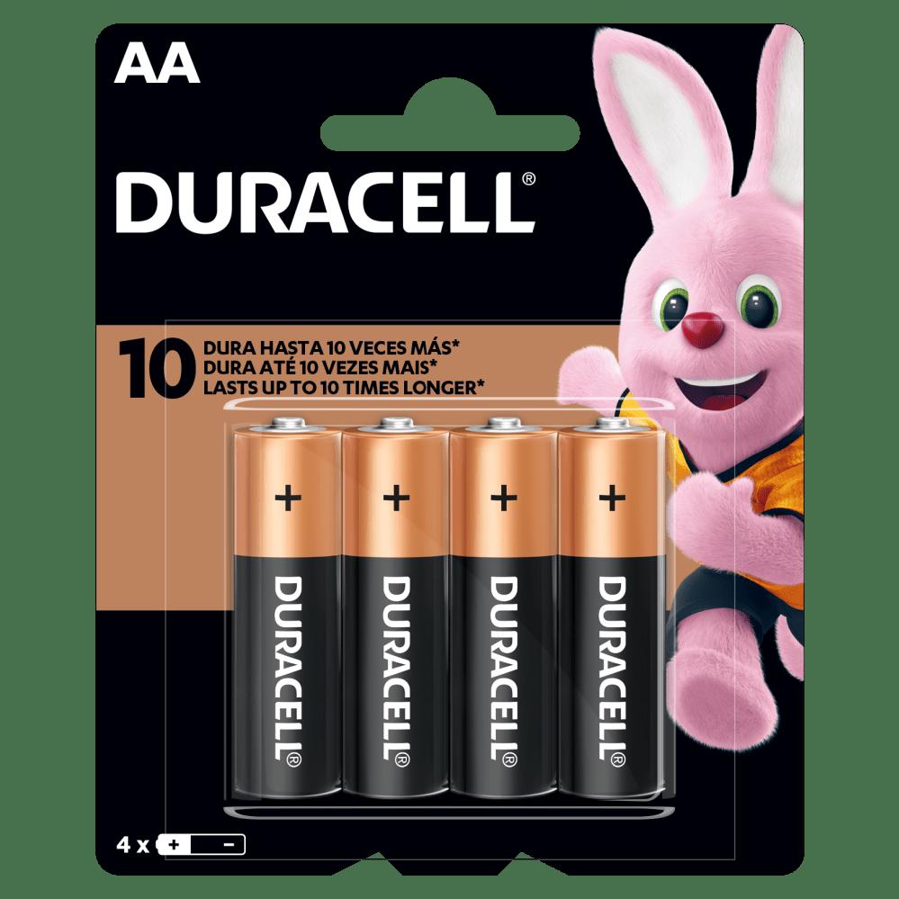 Kit Duracell Duralock Pilha Alcalina AAA (palito) C/ 4 Unidades