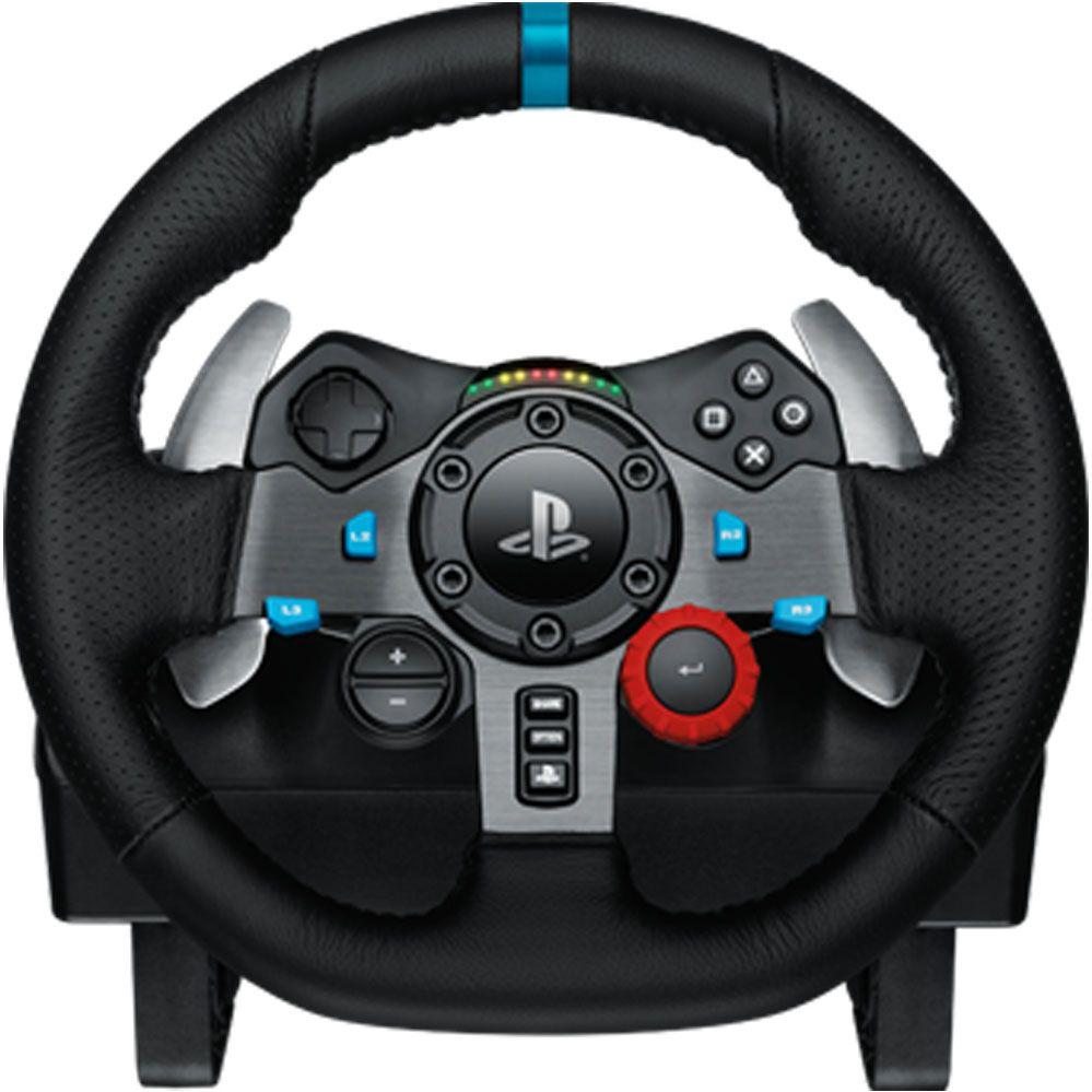 Logitech G29 - Volante Gamer para PS3 e PS4 / PC