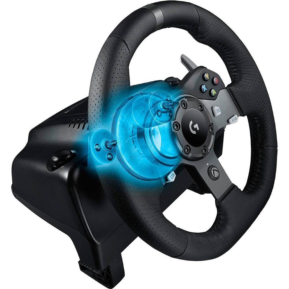 Logitech G920 - Volante Gamer para Xbox One / PC