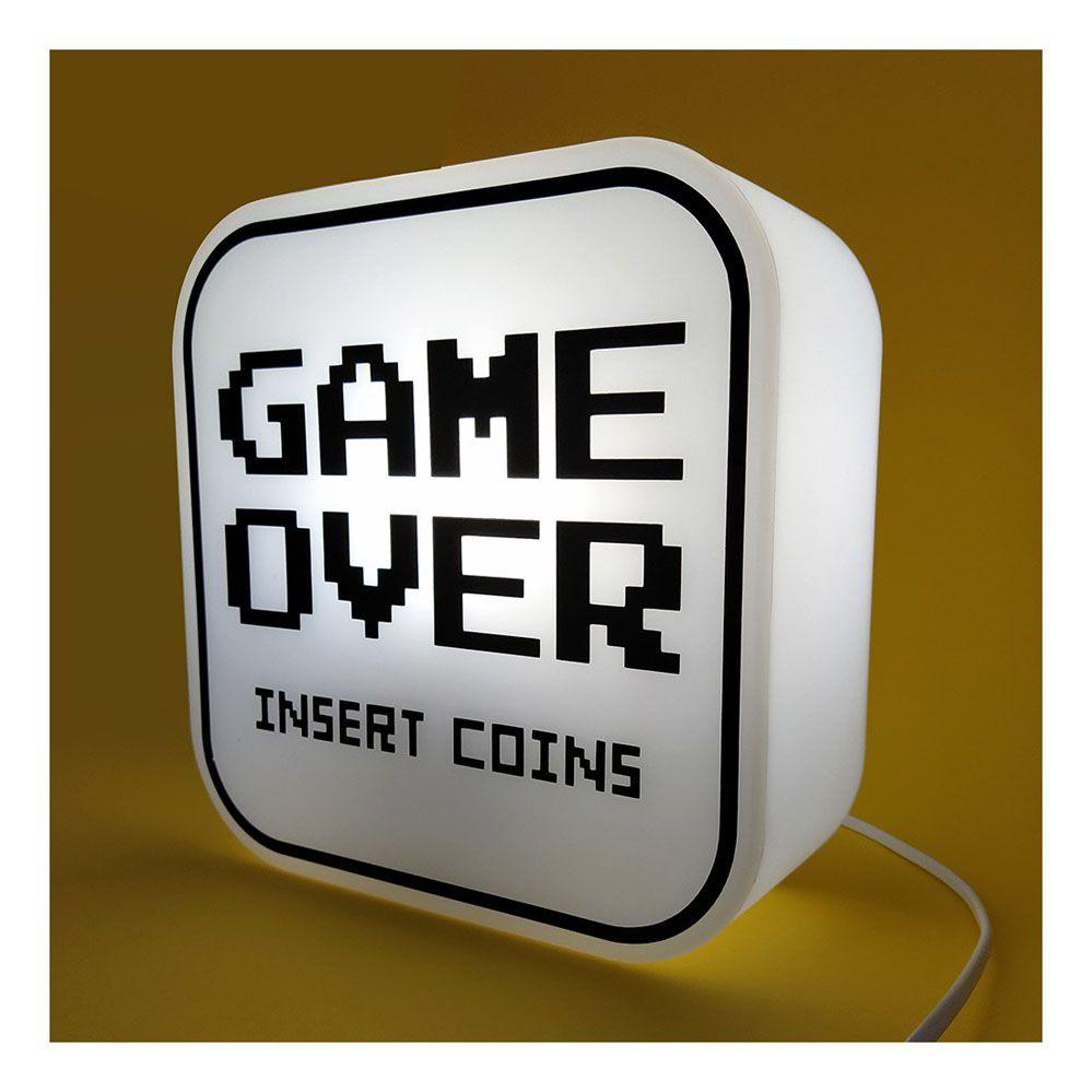 Luminária Abajur Box Game Over