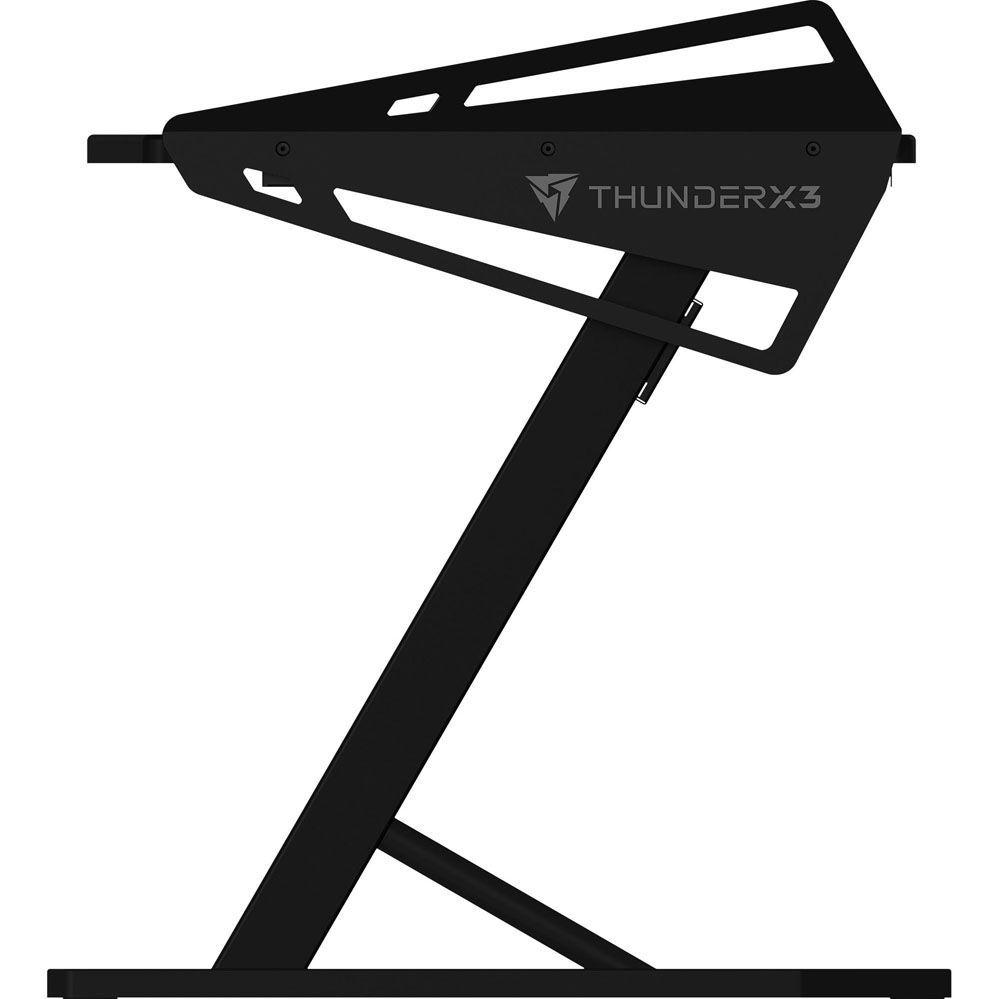 Mesa Gamer HEX 160CM AD3 L Preto THUNDERX3