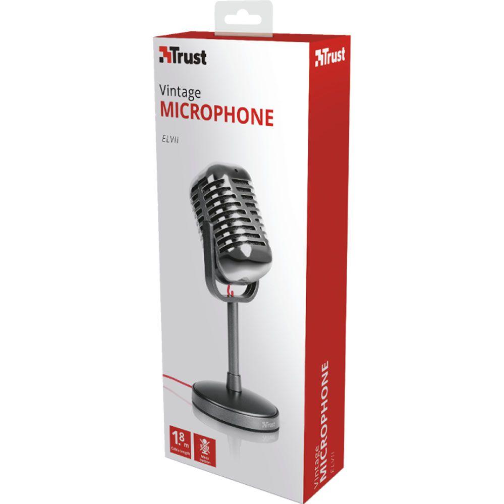 Microfone Vintage - Elvii - Trust