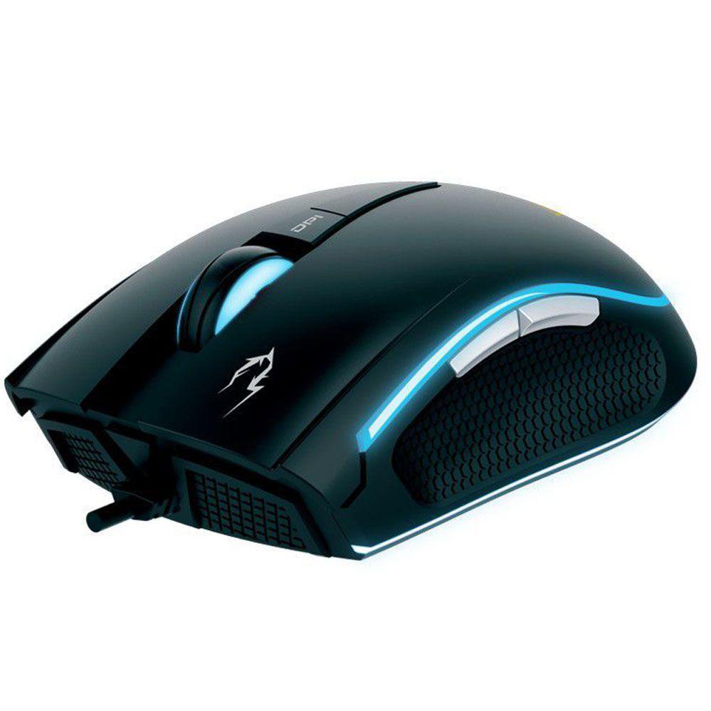 Mouse Gamer Zeus E1 + Mouse Pad NYX E1 - Gamdias