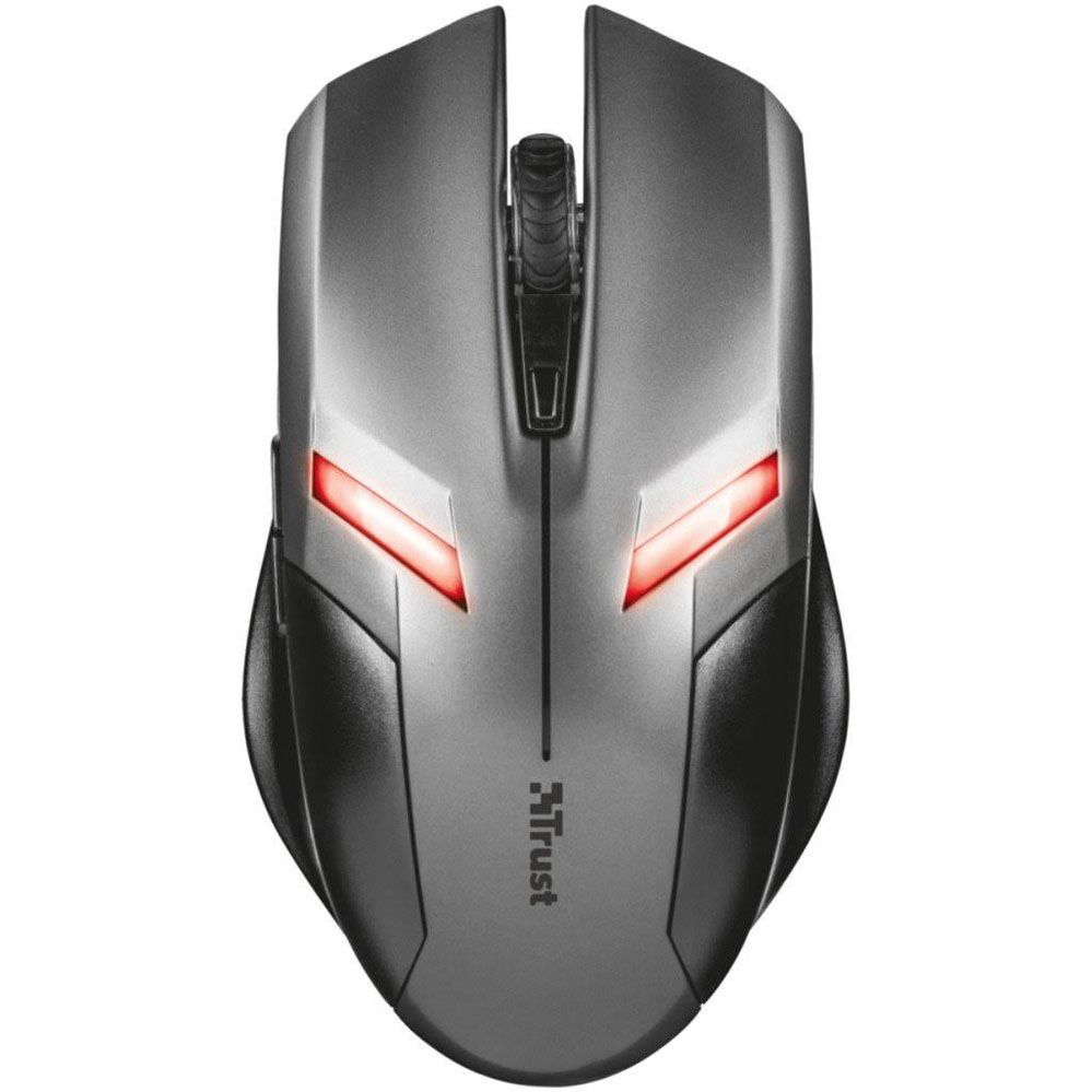 Mouse Gamer - Ziva - 6 Botões - 2000 DPI - Preto - Trust