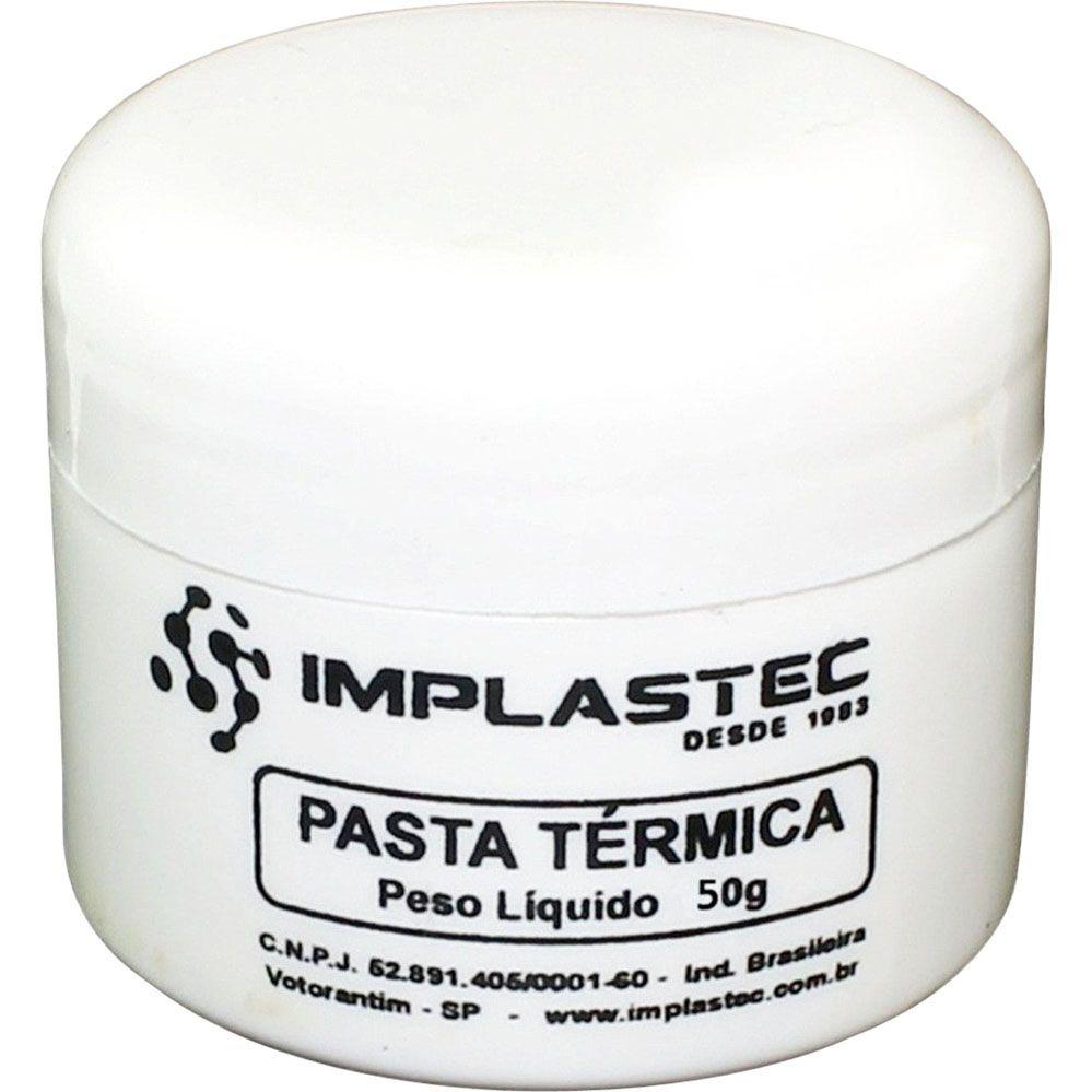 Pasta Térmica THERMAL SILVER Implastec Pote 50G