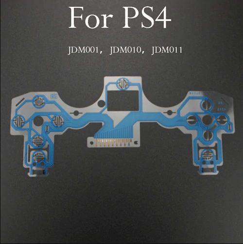Película Condutiva Controle PS4 - JDM010 011 001 (Azul)