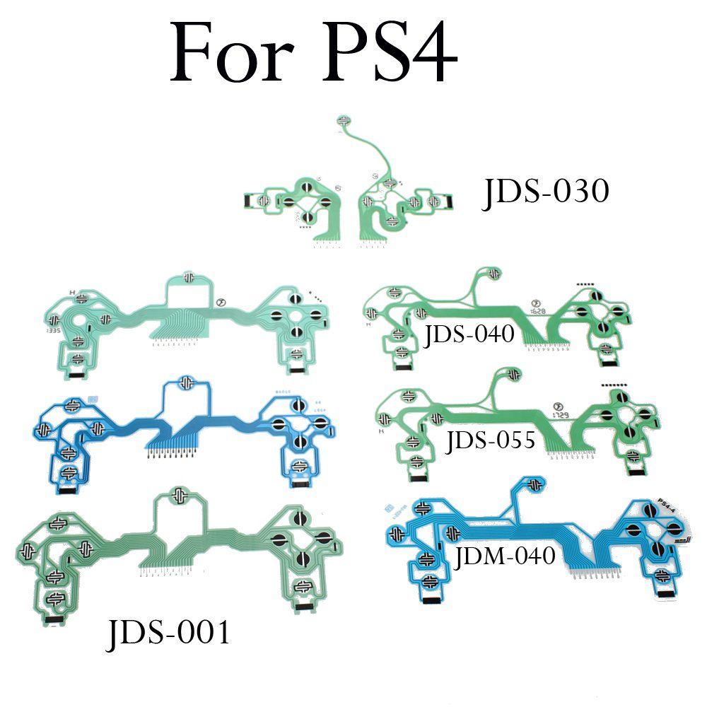 Película Condutiva Controle PS4 - JDM040 Slim/ PRO (Azul)