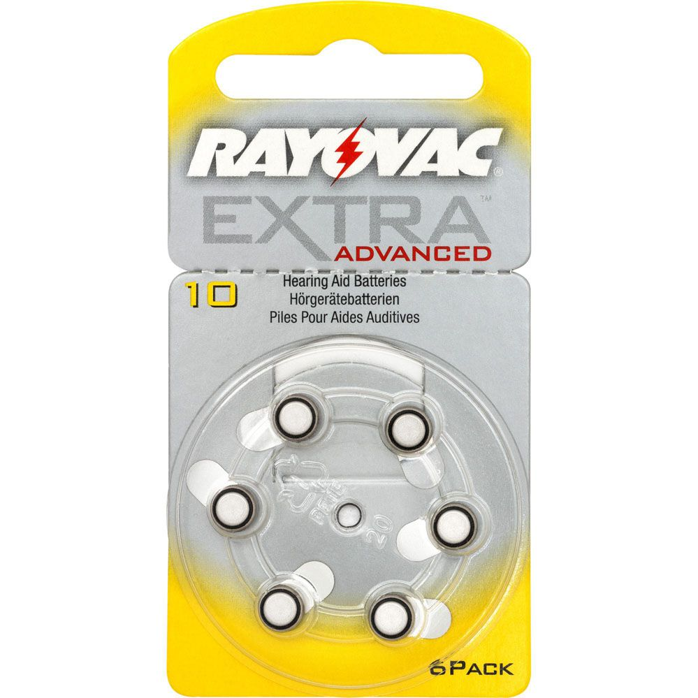 Pilha Auditiva 10 1,4V EXTRA ADVANCED RAYOVAC