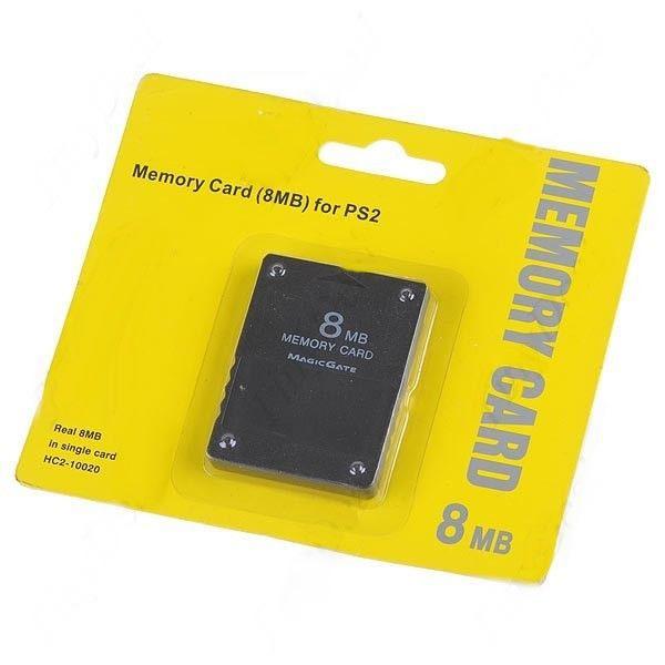 PS2 - Memory Card 8mb - Cartão de Memória Playstation 2