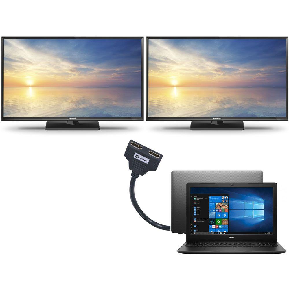 Splitter HDMI 1.3V com 1 Entrada e 2 Saídas Vinik