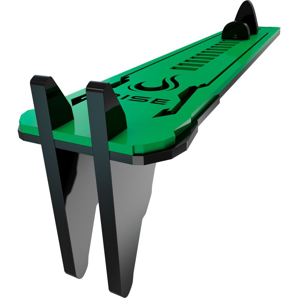 Suporte para Placa de Vídeo - RMSV04BG - Preto e Verde Small - Rise Mode